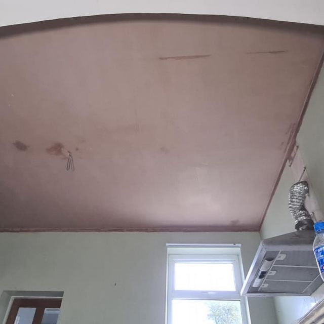 Replastered Ceiling